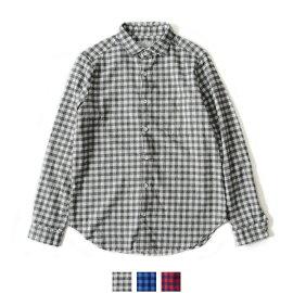 MANUALALPHABETマニュアルアルファベットベーシックチェックネルシャツ・ma-tne-277(全2色)(M)【2014秋冬】