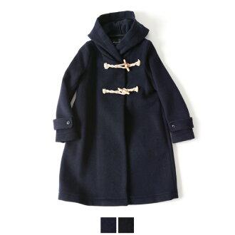 mizuiro 工业蓝色印度羊毛粗呢大衣-4-22015 (2 色) (免费)
