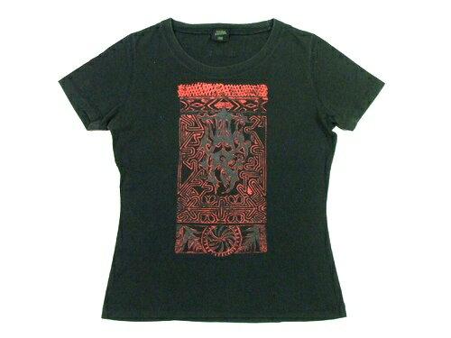 Jean Paul GAULTIER ジャンポールゴルチエ エスニックタトゥーTシャツ (半袖カットソー) 022230 【中古】