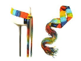 【未使用】 TORNADO MART 「ITALY製」 グラデーションフリンジベルト gradation fringe belt (トルネードマート) 031644 【中古】