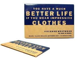 【新古品】 Vivienne Westwood 「35 ANNI DI MODA」 回顧展 ミラノ限定マグネット (ヴィヴィアンウエストウッド) 039555 【中古】