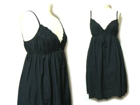 HYSTERIC GLAMOUR ノースリーブボリュームワンピース (black sleeveless bolume one-piece) ヒステリックグラマー 044254 【中古】