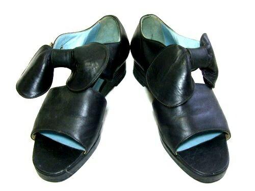 PATRICK COX パトリックコックス ENGLAND 「5」 クラシックリボンレザーシューズ (靴 サンダル) 051324 【中古】