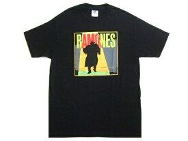 新品同様 90's RAMONS ラモーンズ オフィシャルフォトTシャツ (ロックバンドT 音楽) 058371 【中古】
