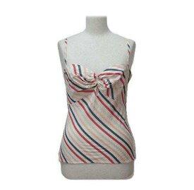 KEITA MARUYAMA 「1」 ストライプカットソー、キャミソール (Stripe cut-and-sew, camisole) ケイタマルヤマ Tシャツ 059824 【中古】