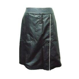 PATRICK COX wannabe パトリックコックス ワナビー 「L」 バイカージップスカート (フェイクレザー) 059873 【中古】