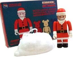 新品同様 2001 廃盤 KUBRICK BE@RBRICK (MEDICOMTOY) WCC13 クリスマス限定 サンタクロース 50% set (キューブリック) 061308 【中古】