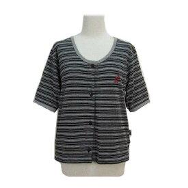 KANGOL カンゴール 「L」 モッズボーダーカットソー (Tシャツ ブラウス カーディガン) 061481 【中古】