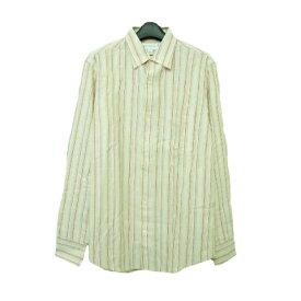 BANANA REPUBLIC バナナリパブリック 「S」 クラシックストライプシャツ (メンズ 長袖ブラウス) 061743 【中古】