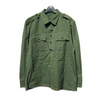 80's vintage BULGARIA Military復古保加利亞軍水手襯衫(軍事ARMY陸軍套衫茄克)062130