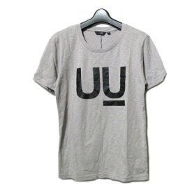 新品同様 廃盤 uu uniqlo undercover 「S」 UU T-shirt (アンダーカバー ユニクロ 限定 UU ロゴ Tシャツ) 半袖 グレー 062549 【中古】