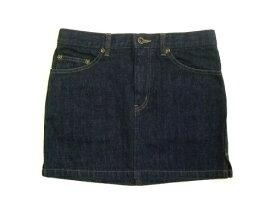 HYSTERIC GLAMOUR 「S」 Basic denim skirt (ヒステリック グラマー 定番 デニム スカート) JEANS ジーンズ 063087 【中古】