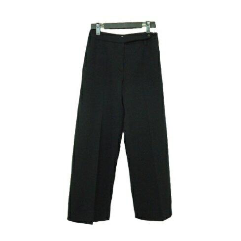 Paul Smith WOMEN 「42」 No tuck wide pants ポールスミス ウーマン ノータック ワイドパンツ 065196 【中古】