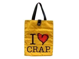 폐반 Vivienne Westwood 비비안웨스트웃드 I LOVE CRAP 토트 백(가방 가방) 067720
