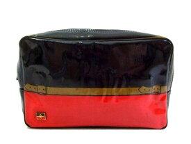 vintage old Roberta di Camerino ヴィンテージ ロベルタディカメリーノ イタリア製 ベルトデザイン セカンドバッグ (鞄カバン) 070809 【中古】