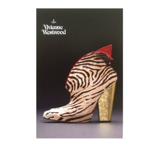 Brand new as well as out of print Vivienne Westwood Vivienne Westwood shoes EXI vision limited edition postcard (VivelaCocotte ' 95 AW) 075432