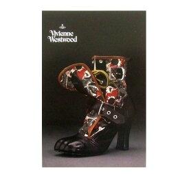 新品同様 廃盤 Vivienne Westwood ヴィヴィアンウエストウッド シューズエキシビジョン限定 ポストカード (Nymphs'02SS 回顧展) 075444 【中古】