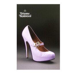 新品同様 廃盤 Vivienne Westwood ヴィヴィアンウエストウッド シューズエキシビジョン限定 ポストカード (On Liberty '94AW) 075449 【中古】