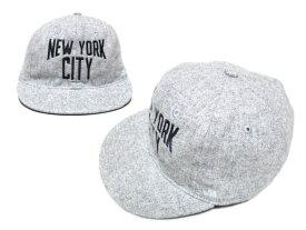 【新古品】 COOPERSTOWN BALL CAP CO. クーパーズタウン ボールキャップ グレーニューヨークシティ 077347 【中古】
