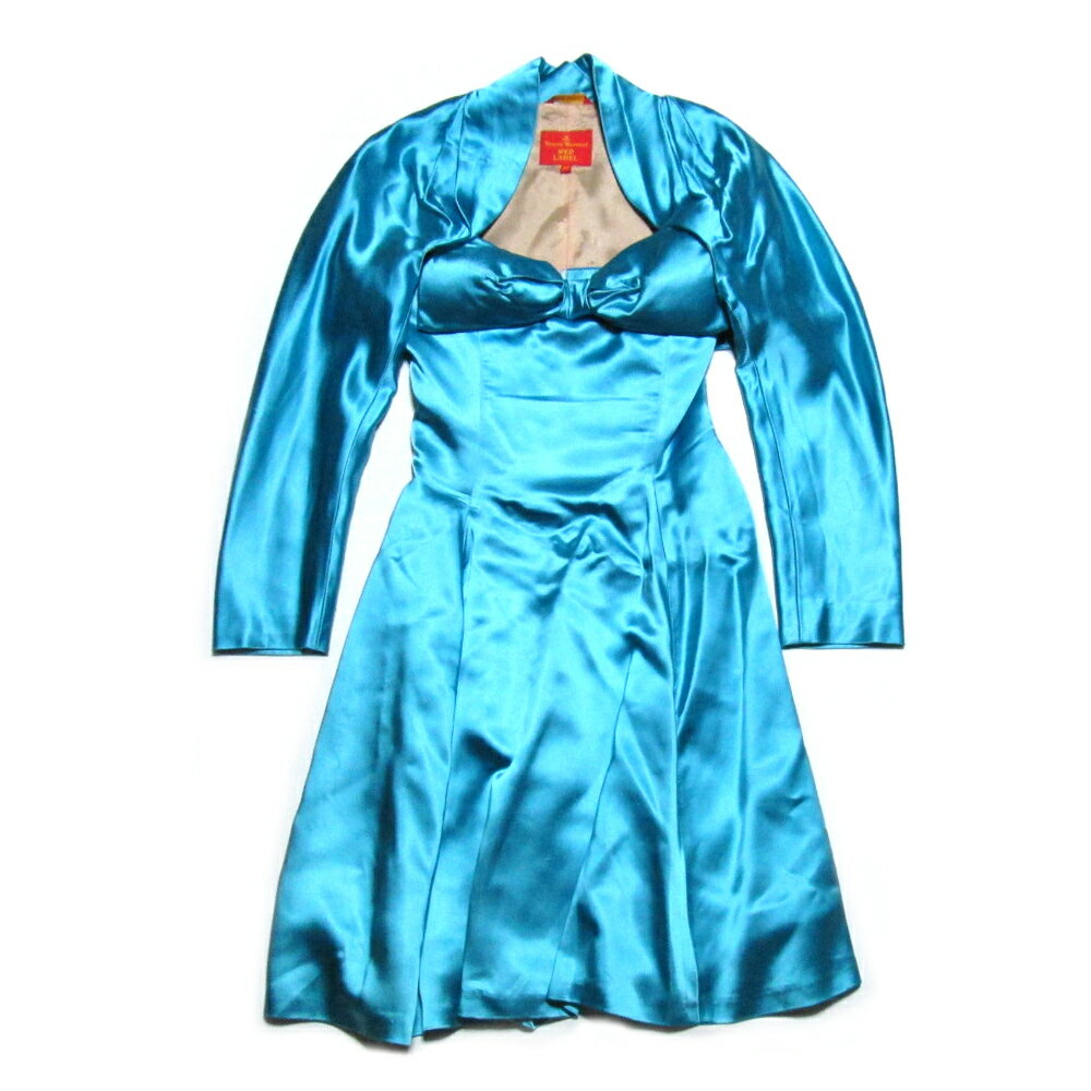 Vivienne Westwood RED LABEL ITALY ヴィヴィアンウエストウッド イタリア製 コルセットドレス ボレロ付 (ワンピース) 078036 【中古】