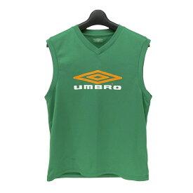 UMBRO アンブロ 「L」 ノースリーブ ゲームシャツ (タンクトップ デサント) 079197 【中古】