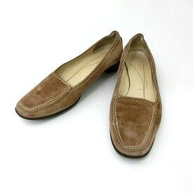 kate spade ケイトスペード 「US6」 スエードレザー ドライビングシューズ (靴シューズ) 079972 【中古】