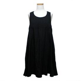Cloche クロシェ 「02」 バスト切替 チュニックドレス (クロチェ ドレス) 082872 【中古】