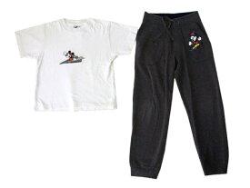 DISNEY・H&M ディズニー エイチアンドエム 「130」 ミッキーマウスTシャツ、スエットパンツセット (キッズ 子供 ボーイズ) 084040 【中古】