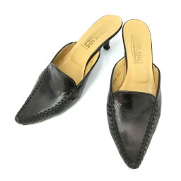 PATRICK COX wannabe帕特裏克考克斯wannabee35 1/2夏普二皮革黑尾鹿(鞋鞋涼鞋)084670