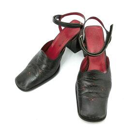 廃盤 Jean Paul GAULTIER ジャンポールゴルチエ 「3」 パンチングレザーヒールシューズ (ゴルチェ 靴シューズ) 084699 【中古】
