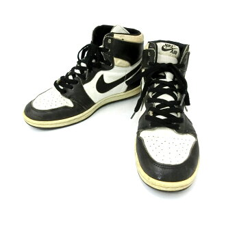 56559a1358ffc Ultra rare NIKE AIR JORDAN 1 Nike Air Jordan 1 original basketball shoes  (karate) 085302