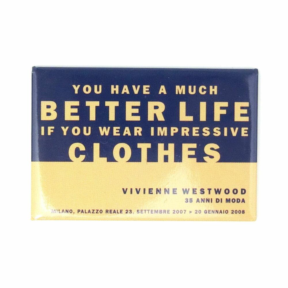 【新古品】 廃盤 Vivienne Westwood ヴィヴィアンウエストウッド 限定 「イタリア回顧展」 マグネット 085401 【中古】