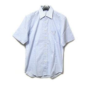dunhill ダンヒル 「M」 ギンガムチェックシャツ (ENGINEERED FIT 半袖) 085613 【中古】