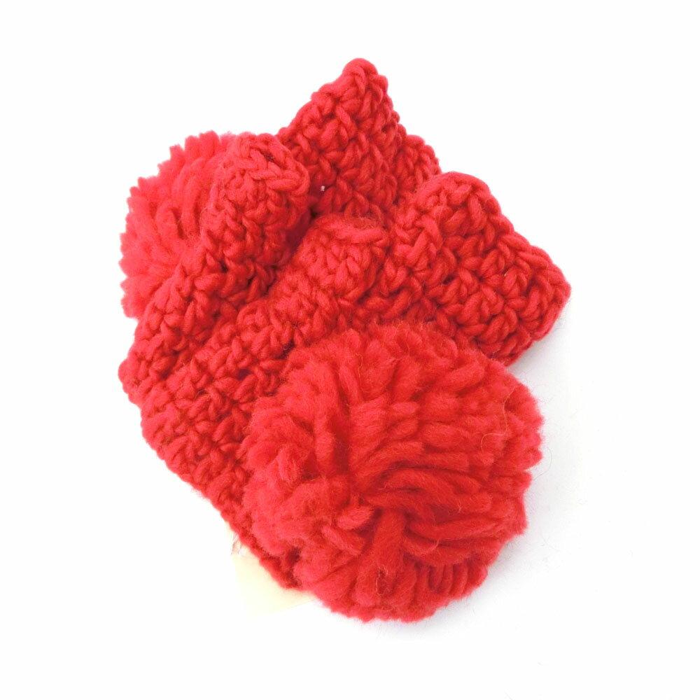 【新古品】 廃盤 Vivienne Westwood ヴィヴィアンウエストウッド ミトン 手袋 グローブ 085723 【中古】