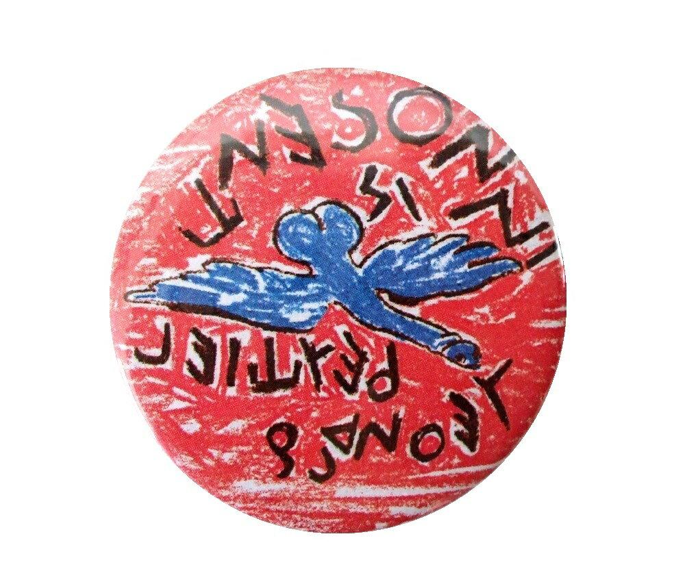 廃盤 Vivienne Westwood ヴィヴィアンウエストウッド レオナルド・ペルティエ カンバッチ (バッジ ブローチ) 085792 【中古】