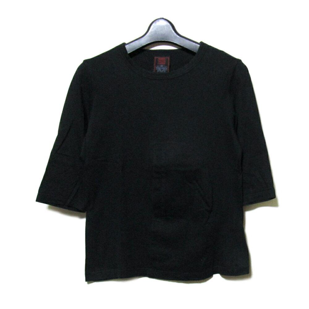 Jean Paul GAULTIER ジャンポールゴルチエ 「40」 フロントポケットストレッチTシャツ (ゴルチェ) 087777 【中古】