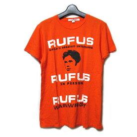 MARC JACOBS マークジェイコブス 「M」 RUFUS Tシャツ (半袖カットソー) 093137 【中古】