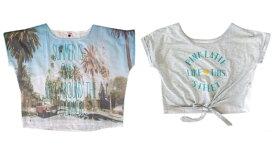 Pinklatte ピンクラテ ワイドデザイン半袖Tシャツ2枚セット 096080 【中古】