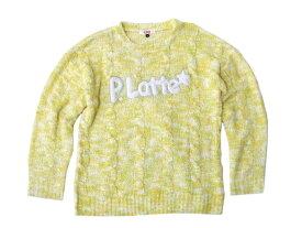 Pinklatte ピンクラテ 「S」 ミックスニットセーター (ワールド) 096190 【中古】