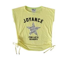 Pinklatte ピンクラテ 「M」 ビッグシルエットTシャツ (半袖 ワールド) 097422 【中古】