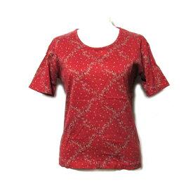 Vintage old WONDERFUL WORLD KANEKO ISAO ヴィンテージ オールド ワンダフルワールド カネコイサオ 「S」 フラワーTシャツ (PINK HOUSE ピンクハウス 半袖) 099014 【中古】