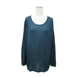 H&M エイチアンドエム 「XS」 ロングニットセーター (紺) 099101 【中古】