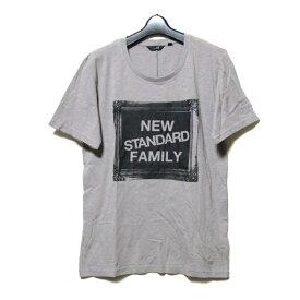 新品同様 uu uniqlo×undercover アンダーカバー ユニクロ 「L」 限定 NEW STANDARD FAMILY Tシャツ (グレー 半袖) 100041 【中古】