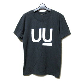 新品同様 uu uniqlo×undercover アンダーカバー ユニクロ 「M」 限定 UU Tシャツ (黒 半袖) 100051 【中古】