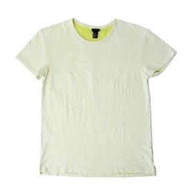 H&M エイチアンドエム レイヤードTシャツ (白 半袖) 100635 【中古】