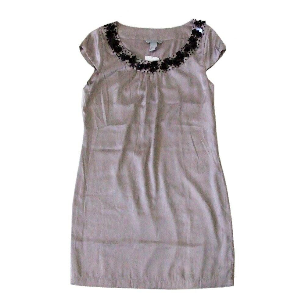 【新古品】 H&M エイチアンドエム 「EUR36」 装飾ドレスワンピース (パーティ) 101562 【中古】