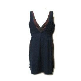 UNDER COVER アンダーカバー 「3」 ドッキングデザインワンピース (紺 ネイビー ドレス) 101971 【中古】