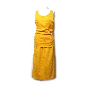 Jean Paul GAULTIER ジャンポールゴルチエ 「9」 コードヤーン刺繍セットアップスーツ (スカート ゴルチェ Tシャツ) 102067 【中古】