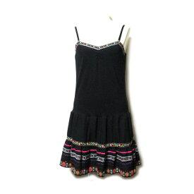 DOLLY GIRL by ANNA SUI ドーリーガール バイ アナスイ 「2」 チロリアンワンピース (黒 ドレス) 102172 【中古】