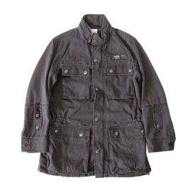 DIESEL ディーゼル 「S」 コンバットジャケット (グレー ミリタリー) 104121 【中古】